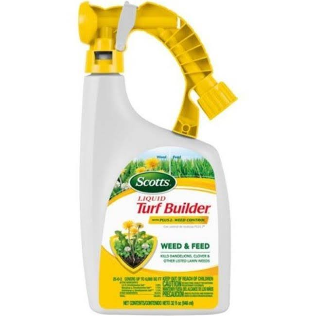 Scotts Liquid Turf Builder Liquid Lawn Fertilizer With Weed Killer - 948ml