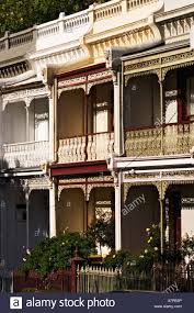 100 Victorian Period Homes Melbourne Architecture Facade Detail Of A Period Terrace