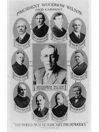 woodrow wilson cabinet members president woodrow wilson and cabinet dead erik larson