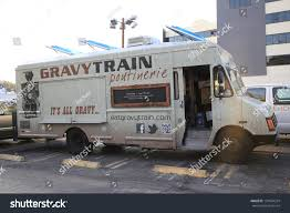100 Hollywood Food Trucks LOS ANGELES APR 25 Gravy Train Stock Photo Edit Now 137054324
