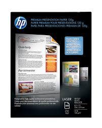 HP Premium Presentation Laser Paper, 8 1/2