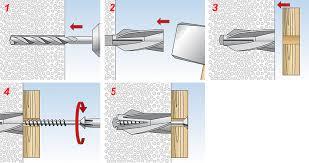 cheville ancrage fixation béton cellulaire fischer gb