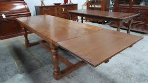 French Oak Dining Extension Table Moonee Ponds Antiques