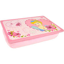 Padded Computer Lap Desk by Disney Princess Padded Lap Desk Pink Walmart Com
