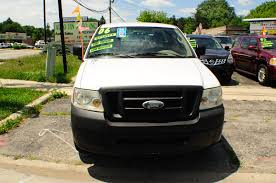 2006 Ford F150 White Ext Cab 4x2 Used Pickup Truck