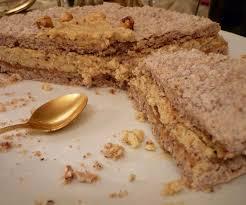 dessert de noël noisette praline caramel cook n roll