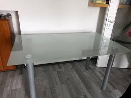 esszimmer glastisch