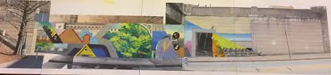 Philadelphia Mural Arts Internship by Public Art Project At Glenside Station Arcadia University