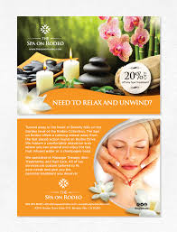 Flyer Design Samples Spa Los Angeles Flyers Mad Mind Studios Ideas
