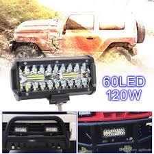 7 Inch 120W 16000LM 6000K White Waterproof Three Rows Light LED Bars ... 2009 2014 F150 Paladin 210w Curved Lower Grille Led Bar F150ledscom Custom Offsets 20 Offroad Led Bars And Some Hids Shedding 30in Single Row Light Hidden Kit For 1116 Ford Super Need A Mount For That Light 2015 Gmc Sierra 2500 Truck Lights Trucks 60 Redline Tailgate Tricore Weatherproof Avian Eye Tir Emergency 3 Watt 63 In Tow Light Amazoncom Customer Reviews Yitamotor 300w 52 Inch Off Eyourlife 32 The Roofmounted Is Cab Visors Cousin Drive 7 Inch 120w 16000lm 6000k White Waterproof Three Rows