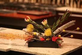 Pincushion Protea Denver Florist 80205 Modern Flower Arrangement Rustic Centerpiece