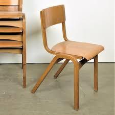 mid century esszimmerstühle aus buche tecta 6er set