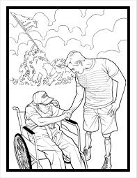 BLOWN AWAY The Story Of SSgt Johnny Joey Jones Coloring Book