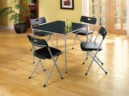 cosco home and office products 5 piece card table and chairs