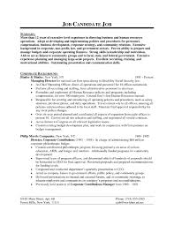 Resume Samples For Executive Directors Of Nonprofits Best Sales Director Lewesmr