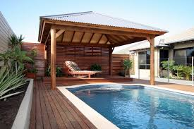 Harmonious Pool Pavilion Plans by Timber Gazebo Swimming Pool Area Ideas Pool Cabana