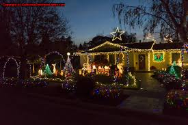 Christmas Tree Lane Ceres Ca Address by Best Christmas Lights And Holiday Displays In San Jose Santa