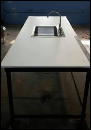 Fish Cleaning Station With Sink by February 13 2014 Cleveland Metroparks