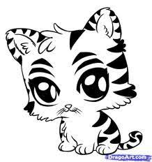 Great Cute Animal Coloring Pages