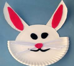 Easy Kids Crafts Paper Plate Easter Bunny Craft North Texas 11BGQOR9