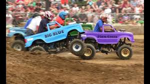 100 Mini Monster Trucks Racing At Truck Shootout At Imlay Fair