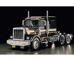 100 1 4 Scale Rc Semi Trucks RC King Hauler Black Edition RC Traktor RC