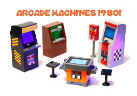 This Project Will Appeal To Anyone Who Loves The Classic Arcade Games Of 1980s It Includes Five Machines That Could Be Sold Separately Or Grouped