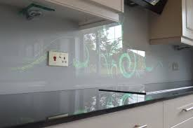 Kitchen Backsplash Wall Panels Splashback Printed Glass Splashbacks For Kitchens Funky Designs