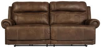 Hogan Mocha Reclining Sofa Loveseat by Signature Design By Ashley Cayman Brown 2 Seat Reclining Sofa With