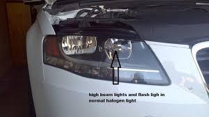 audi a4 b8 geniune bi xenon headlights with led as drl audi led store