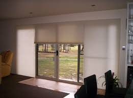 Interior Dining Room With Sliding Glass Door Having Cream Curtain From 5 Black And White Patio Curtains Sourcemaleeqdecor