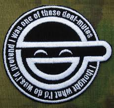Black GHOST IN SHELL STAND ALONE COMPLEX The Laughing Man Embroidery Patch B2790 In Patches From Home Garden On Aliexpress