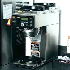 Bunn 2 Burner Coffee Maker Makers Manuals Manual Dual Calibration