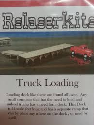 RS Laser Kit #3026 - Truck Loading - N Scale - Midwest Model Railroad