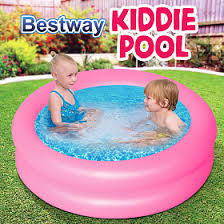 This Item Bestway Round 2Ring Kiddie Pool Multi Color 24X6 5106113 AED49 AED