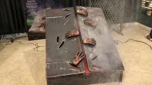 Spirit Halloween Austin Tx by Zombie Fogging Basement Doors Time Lapse Unboxing Setup Spirit