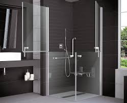 duschkabine behindertengerecht 100 x 100 x 195 cm