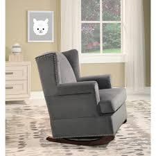 100 Reclining Rocking Chair Nursery Graco Gray Recliner Wooden