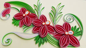 Paper Quilling How To Make A Beautiful Flower Orchids With Strips