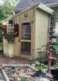 diy garden shed from picket fence hometalk