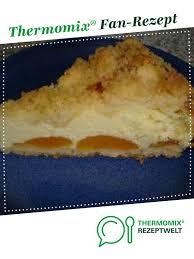quark streusel kuchen mit pfirsichen