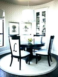 Carpet For Round Dining Table Room Rug Ideas
