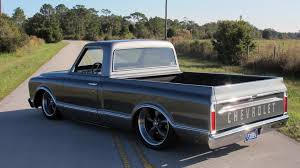 1967 Chevrolet C10 Pickup   F54.1   Kissimmee 2017 6772 Chevy Truck Seat Cover Ricks Custom Upholstery 1967 C10 22 Inch Rims Truckin Magazine Are You Fast And Furious Enough To Buy This 67 383 Stroker Engine Chevrolet Ck 10 For Sale Classiccarscom Cc909965 1966 Short Bed C14 V8 66 65 64 Hot Rod Rat Billet Alinum 5 Vane Ac Vents With Black Bezel 72 Interior My Stepside Ricekiller White Trucks Fresh Snow On 24rims In Eccentric Mike Partykas Slamd Mag The 1970 Page What Problems To Look In Chevygmc Pickups