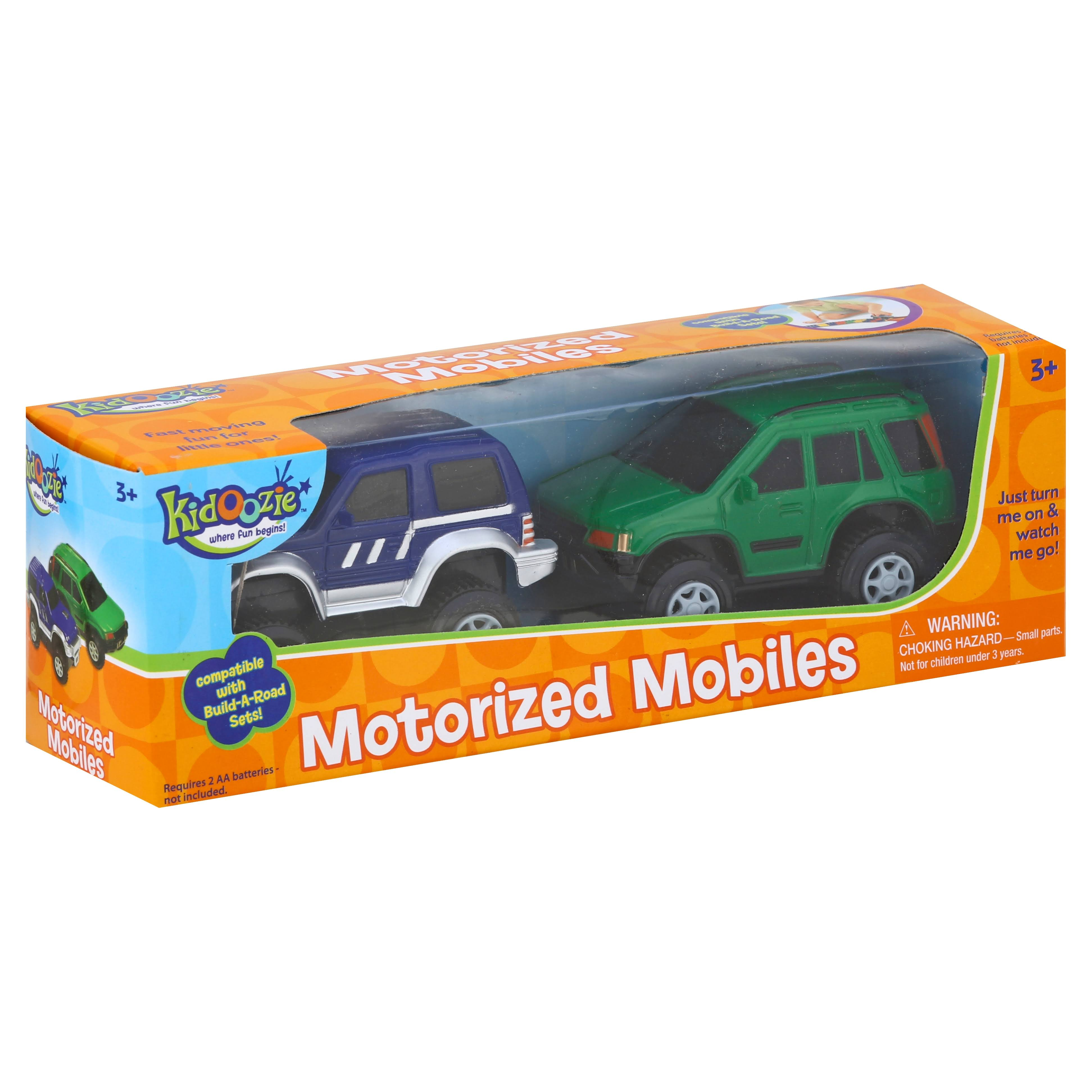 Kidoozie Build-A-Road Motorized Mobiles - 2 pack