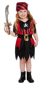 Girls Toddler Pirate Fancy Dress Costume (Costume): Amazon.co.uk ...