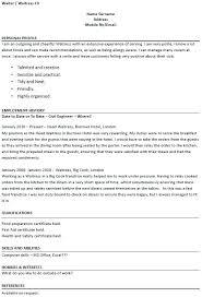 Restaurant Server Resume Example Server Resume Skills Restaurant