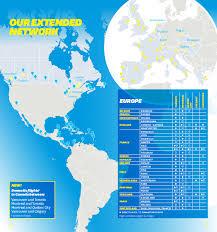 air transat nantes montreal map of destinations air world services en