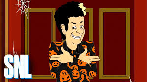 Stefon Snl Halloween Youtube by David S Pumpkins Is His Own Thing Snl Youtube