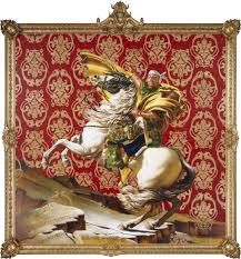 Kehinde Wiley Napoleon Leading The Army Over Alps 2005 Courtesy Of Brooklyn