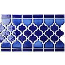 border blue lantern design bczb010 mosaic tile ceramic mosaic